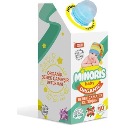 Minoris Bebek Deterjanı (Baby Organik Çamaşır Sıvı Deterjan) 1